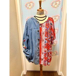🔮SALE Beautiful mandala boho floral  top